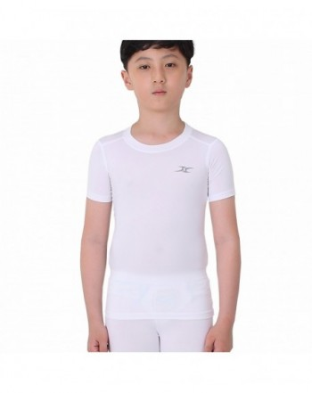 Compression Shirt Underwear Youth Sleeve