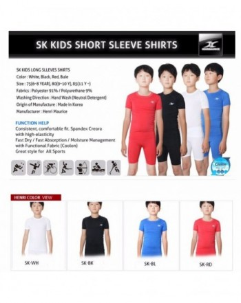 Boys' Athletic Shirts & Tees Clearance Sale