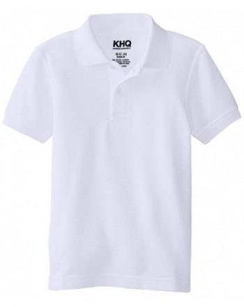 KHQ Boys Short Sleeve Pique