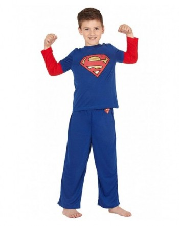INTIMO Boys Superman Layered Pajama