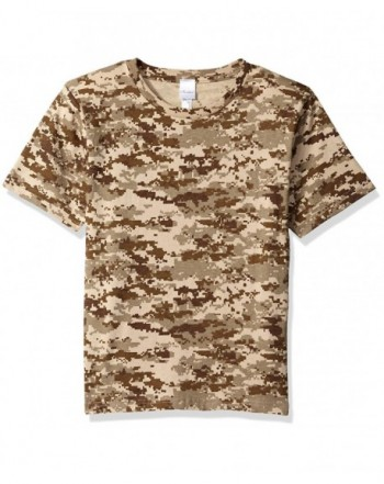 Clementine Boys Outdoor Camouflage T Shirt