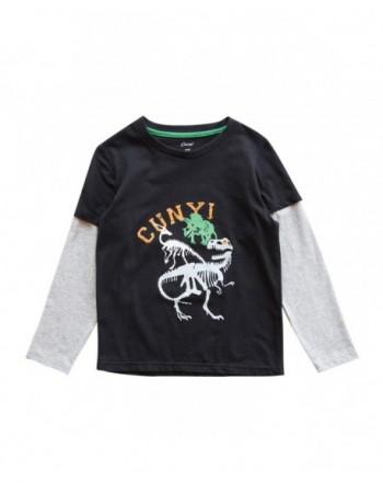CUNYI Little Dinosaur Crewneck Graphic