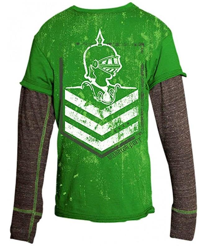 Warrior Poet Chevron Long Sleeved T Shirt