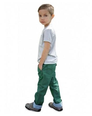 Dakomoda Toddler Cotton Green Pants