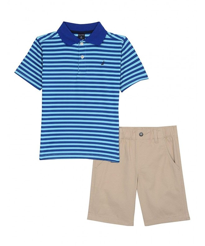 Nautica Boys Piece Shirt Short