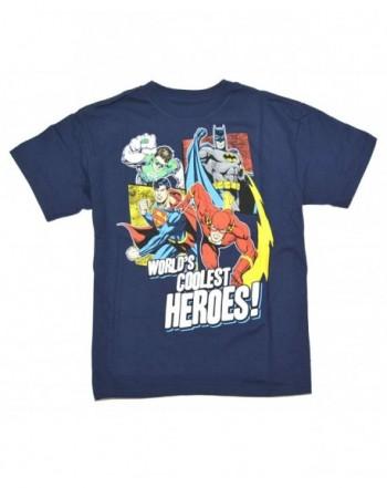 Justice League BoysWorlds Coolest T Shirt