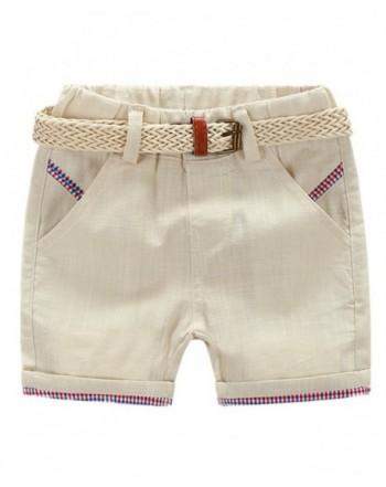 LittleSpring Little Boys Shorts Casual
