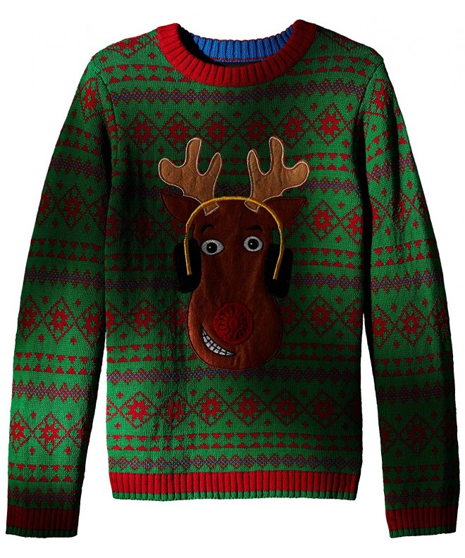 Blizzard Bay Light Reindeer Sweater
