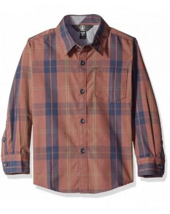 Volcom Boys Bullock Sleeve Shirt