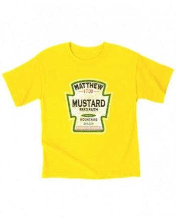Kerusso Mustard Kids T Shirt 5T Christian Fashion