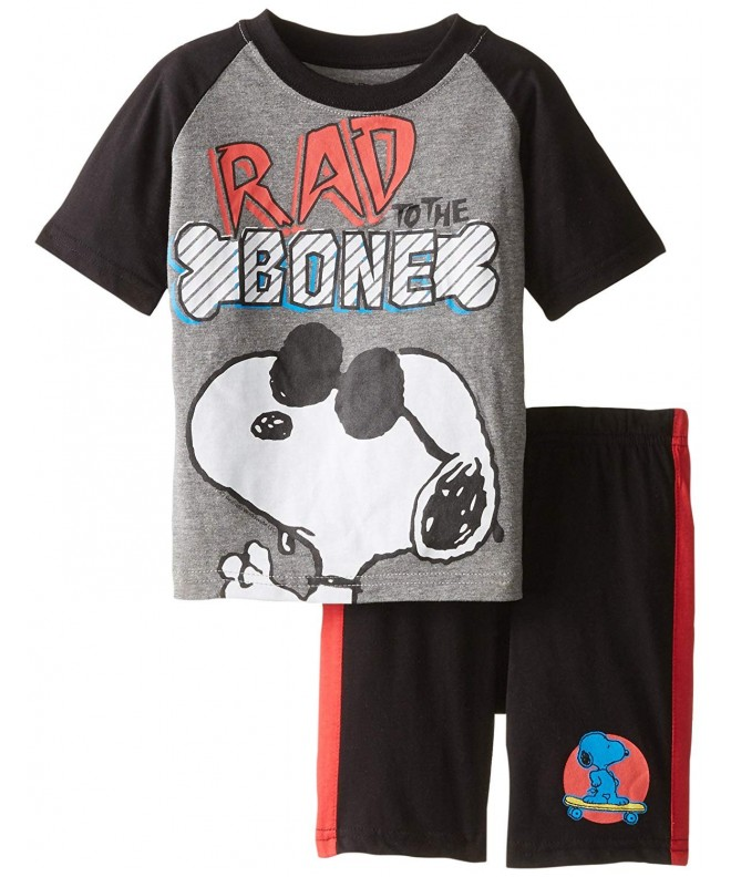 Peanuts Snoopy Sleeve T Shirt 2 Piece