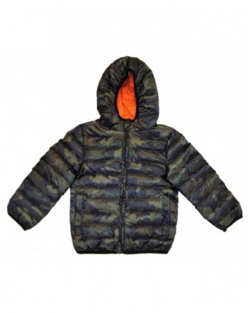Class Club Quilted Puffer Jacket