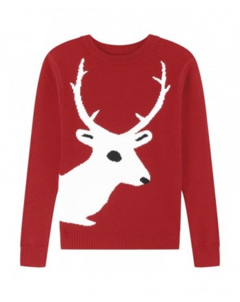 Adory Sweety Jacquard Reindeer Pullover