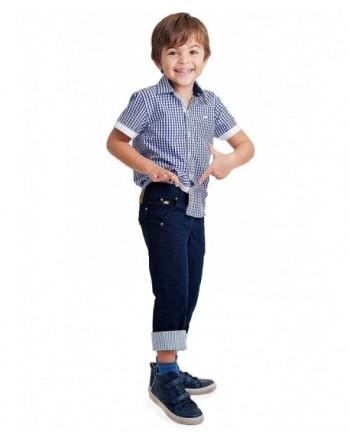 Dakomoda Toddler Boys Cotton Pants