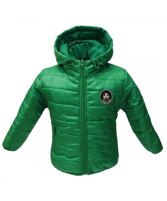 Green Ireland Shamrock Crest Jacket