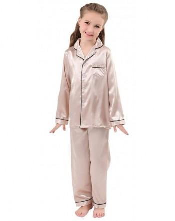 JOYTTON Pajamas Button Down Sleepwear Loungewear