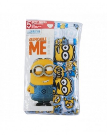Despicable Minion Boys 5 pk Briefs