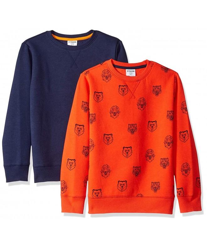 Spotted Zebra Boys 2 Pack Sweatshirts