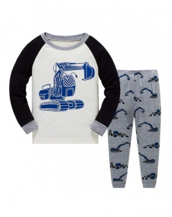 Garsumiss Toddler Pajamas Dinosaur Sleepwears