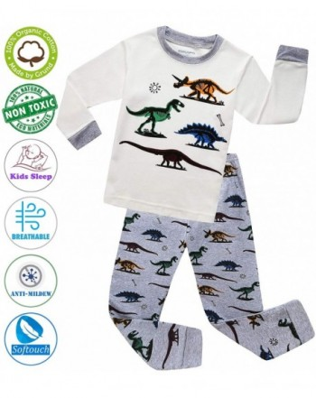 MOGGEI Sleepwear Toddlers Children Dinosaur