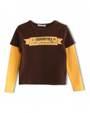 CUNYI Little Layered Sleeve T Shirts
