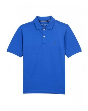 Nautica Short Sleeve Solid Performance