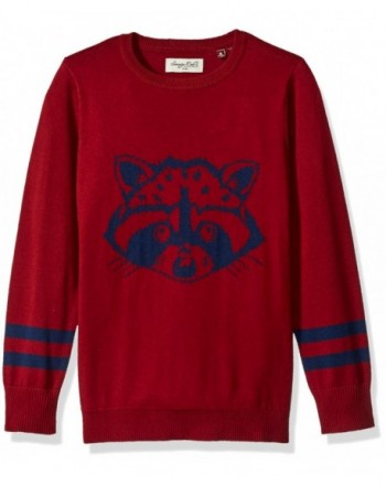 Sovereign Code Printed Intarsia Sweater