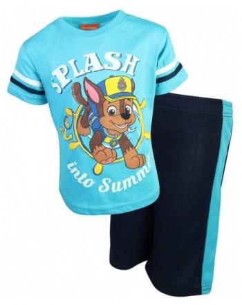 Nickelodeon Patrol 2 Piece T Shirt Short
