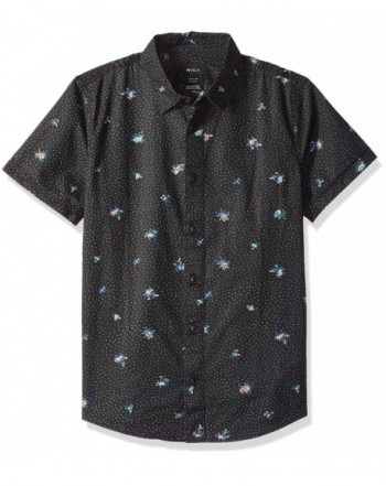 RVCA Scattered Short Sleeve Button