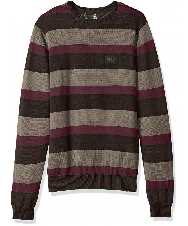 Volcom Boys Tres Stripe Sweater