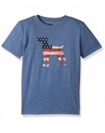 Life Good Boys Vtgblu T Shirt