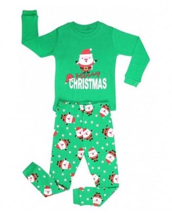 Elowel Christmas Pajamas Cotton Size6M 12Y