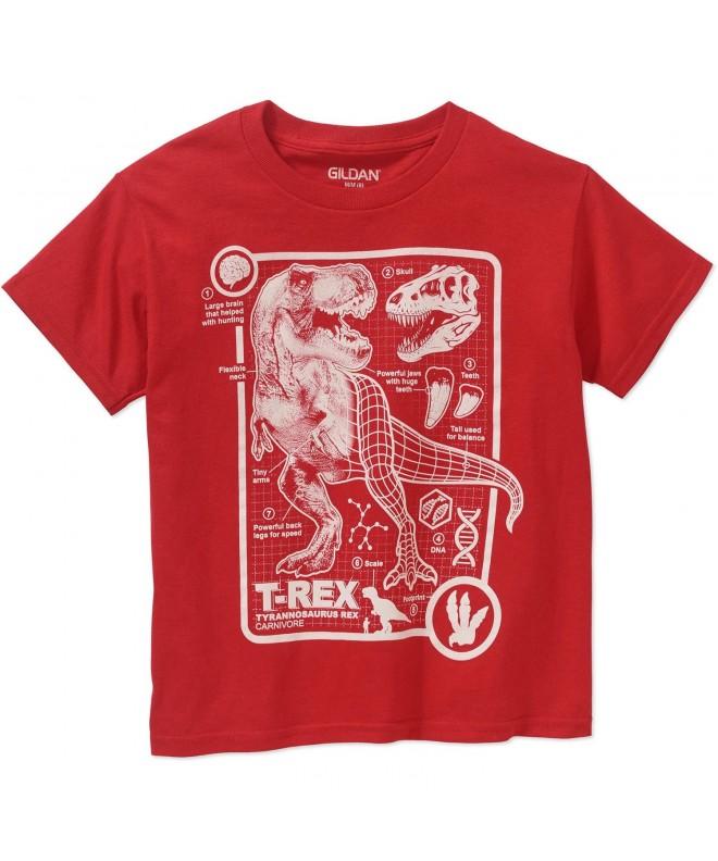 T Rex Dinogram Short Sleeve Shirt