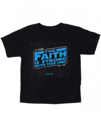 Kerusso Faith Strong Kidz Black