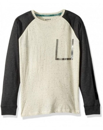DKNY Sleeve Cotton Jersey T Shirt