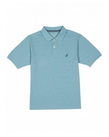 Nautica Short Sleeve Solid Stretch