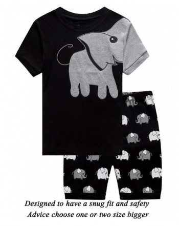 Little Pajamas Elephant Toddler Clothes