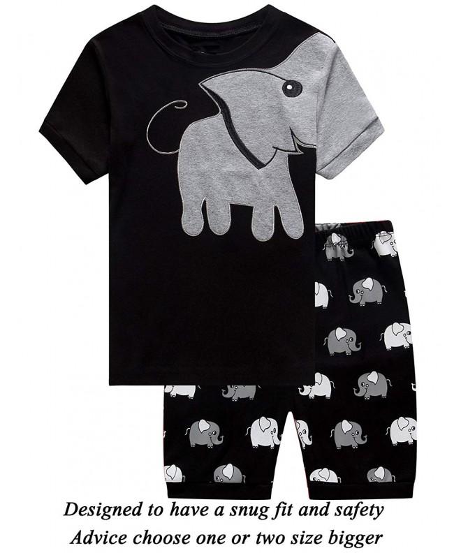 Little Pajamas Elephant Toddler Clothes