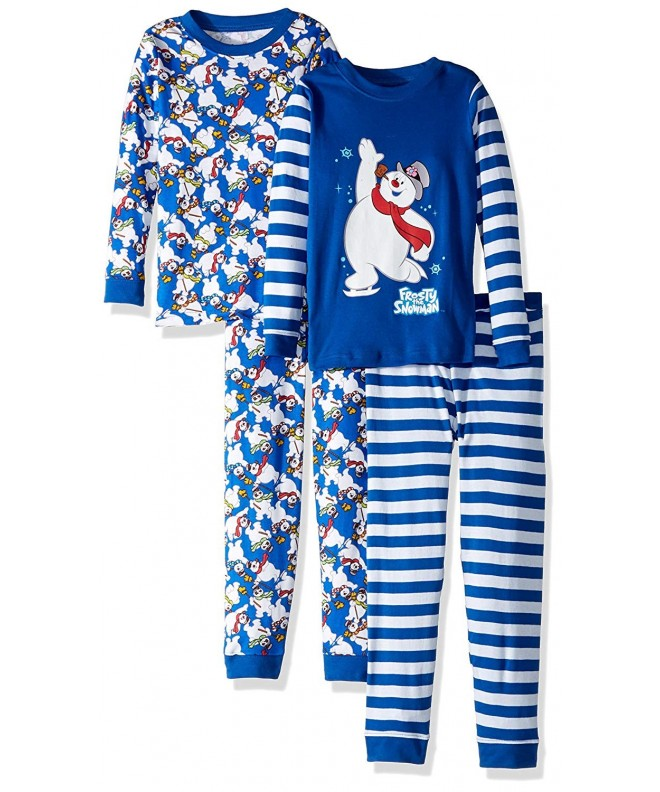 Intimo Frosty Snowman 4 Piece Pajama