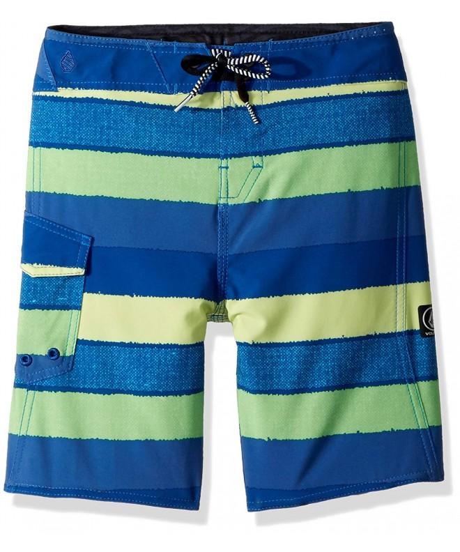 Volcom Little Boys Magnetic Liney MOD 13.5 Adjustable Waist Boardshort