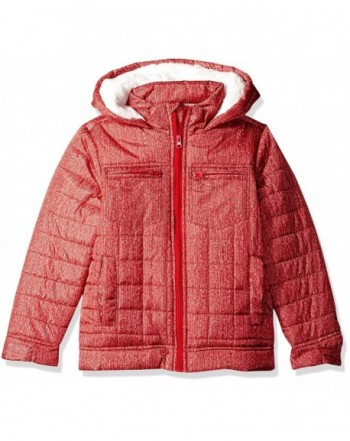 Ok Kids Boys Quilted Jacket