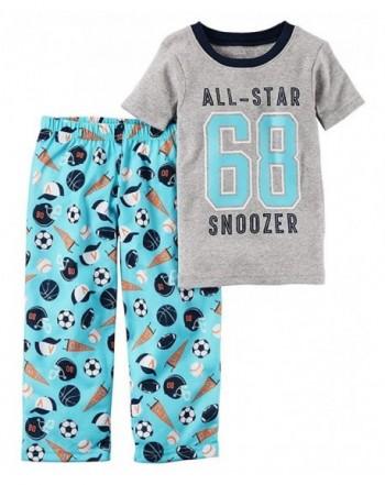 Carters Boys 2 Piece Pajama All Star