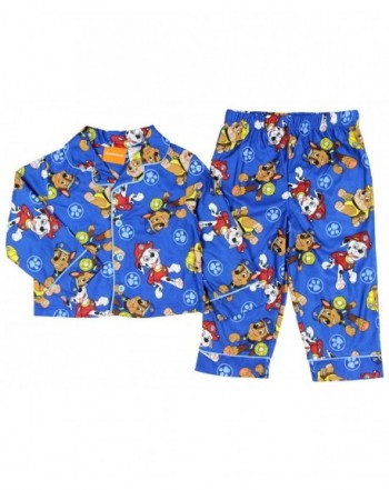 Paw Patrol Toddler Button Pajama