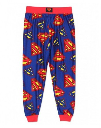 Superman Flannel Pajama Pants Little