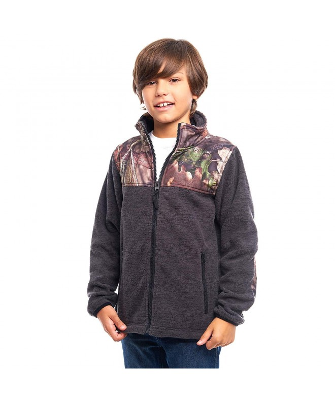 TrailCrest Childrens Fleece Jacket Patterns