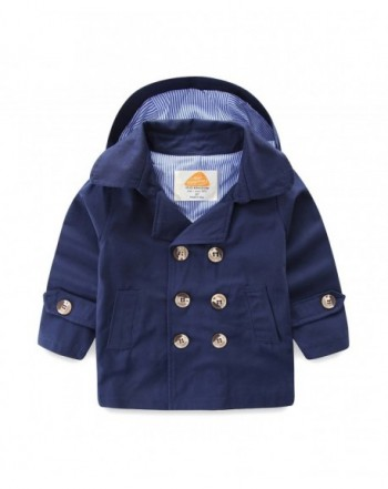 Mud Kingdom Boys Coats Removable