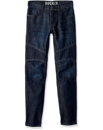 Crazy Boys Moto Rocker Denim