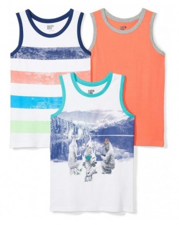 Spotted Zebra Boys 3 Pack Sleeveless