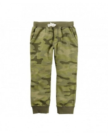 Carters Boys 2T 8 Reinforced Joggers