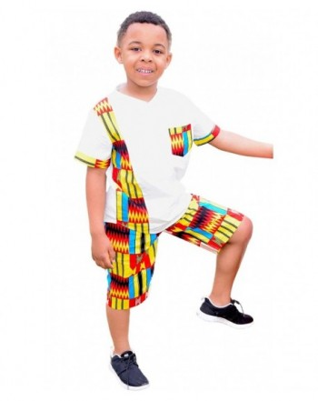 Shenbolen African Ankara Tribal Clothing